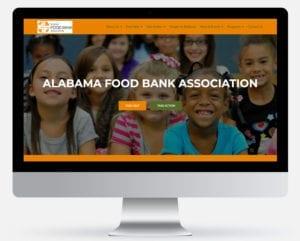Screenshot of Alabama Food Bank Association