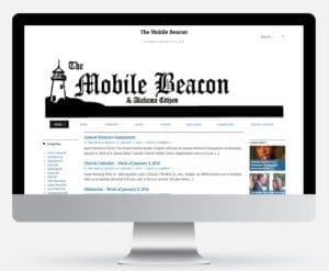 Image of The Mobile Beacon Website